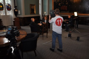 e-Participation day preparations in Denmark: making a TV program with Danish MEP for national TV