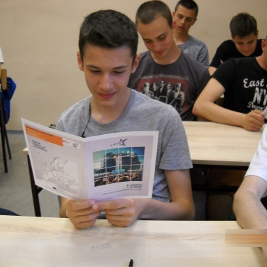 "Workshop on e-Participation organised in the Secondary school ""Mihajlo Pupin"" in Novi Sad"