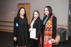 Albanian winner of the online competition My e-Participation story: Jora Risto with Albanian Institute of Science