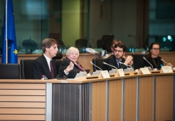 Second conference panel - Digital literacy, access and provision of e-services - moderated by MEP Lauristin